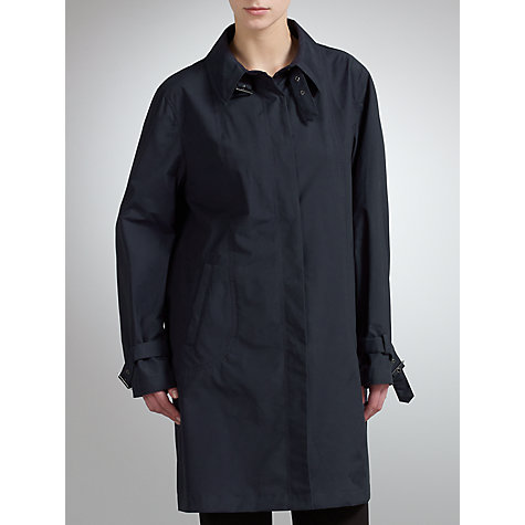 Buy Four Seasons Contemporary Coat, Navy Online at johnlewis.com