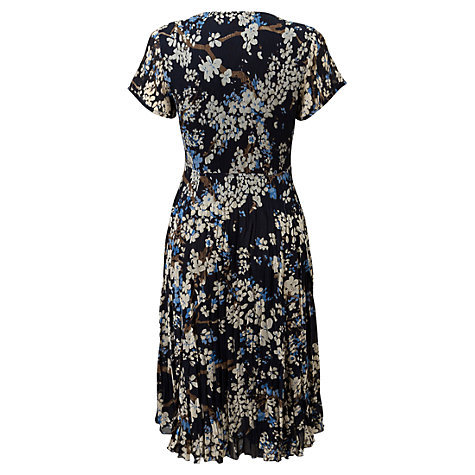 Buy East Natalya Bubble Dress, Navy Online at johnlewis.com