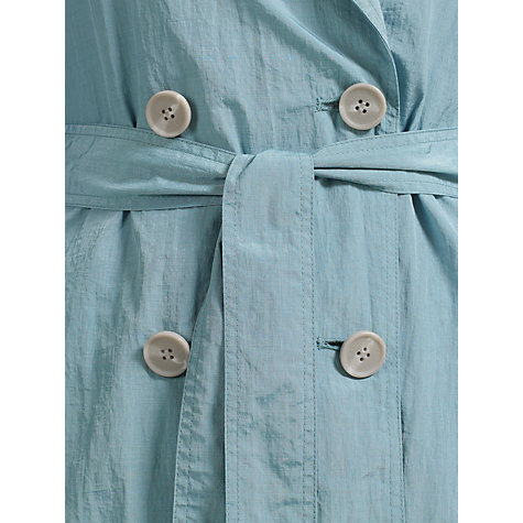 Buy Four Seasons Unlined Belted Coat, Seafoam Online at johnlewis.com