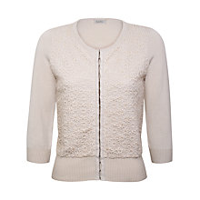 Buy Kaliko Embellished Cardigan, Ivory Online at johnlewis.com