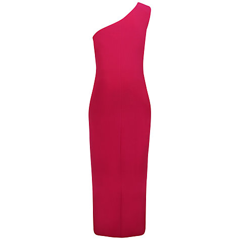 Buy Alexon One Shoulder Maxi Dress, Pink Online at johnlewis.com