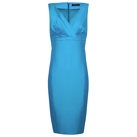 Buy Alexon Wool Silk Empire Dress, Mineral Online at johnlewis.com