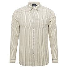 Buy JOHN LEWIS & Co. Vintage Double Stripe Shirt, Natural Online at johnlewis.com