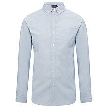 Buy JOHN LEWIS & Co. Workers Fine Stripe Long Sleeve Shirt Online at johnlewis.com