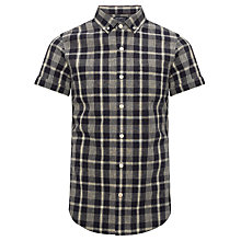 Buy JOHN LEWIS & Co. Short Sleeve Linen Check Shirt Online at johnlewis.com