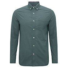 Buy JOHN LEWIS & Co. Long Sleeve Vintage Diamond Spot Shirt Online at johnlewis.com