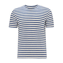 Buy JOHN LEWIS & Co. Short Sleeve Melange T-Shirt Online at johnlewis.com
