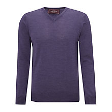 Buy John Lewis Italian Merino V-Neck Jumper Online at johnlewis.com