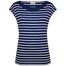 Buy Kaliko Striped T-Shirt, Blue Online at johnlewis.com
