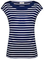 Kaliko Striped T-Shirt, Blue