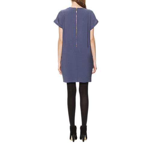 Buy Whistles Jessica Dress, Grey Online at johnlewis.com