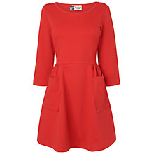 Buy Boutique by Jaeger Percy Jersey Dress, Red Online at johnlewis.com