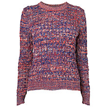 Buy Boutique by Jaeger Honeycomb Mouline Jumper, Multi Online at johnlewis.com