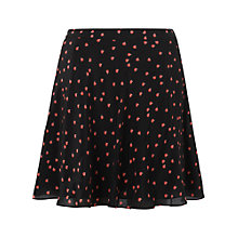 Buy Boutique by Jaeger Ladybird Skater Skirt, Black Online at johnlewis.com