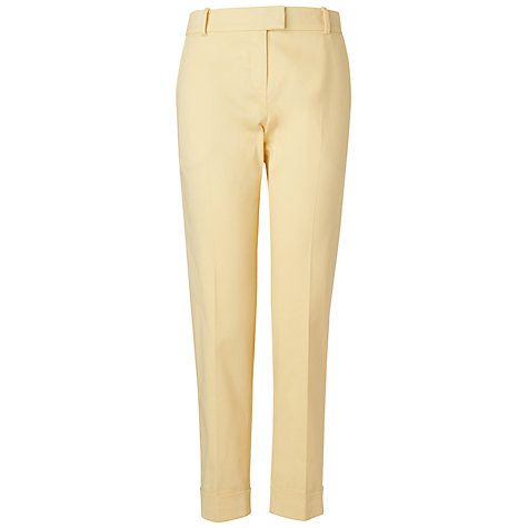 Buy Boutique by Jaeger Slim Leg Chino Trousers, Yellow Online at johnlewis.com