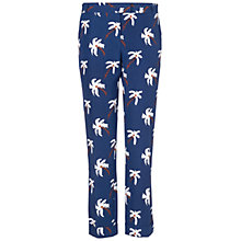 Buy Boutique by Jaeger Palm Tree Trousers, Blue Online at johnlewis.com