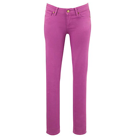 Buy Paige Verdugo Jeggings, Boysen Berry Online at johnlewis.com