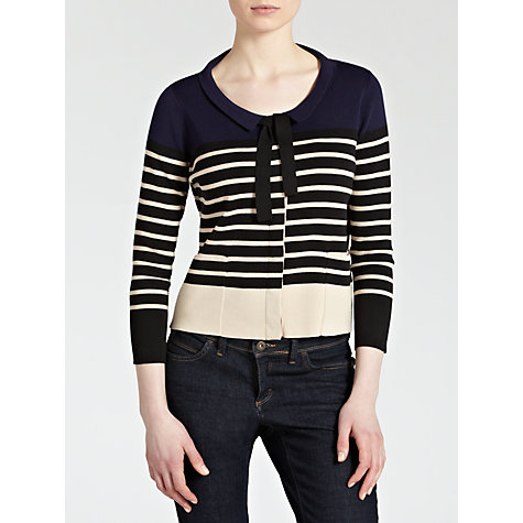 Buy Hoss Intropia Nautical Stripe Cardigan Online at johnlewis.com