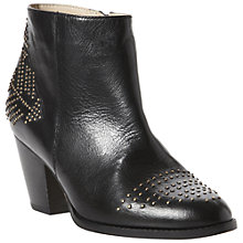 Buy Dune Provence Stud Detail Block Heel Ankle Boots Online at johnlewis.com