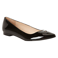 Buy Hobbs Alice Patent Leather Sweetheart Pumps Online at johnlewis.com