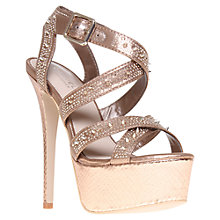 Buy Cavela Goddess Platform Sandal Online at johnlewis.com