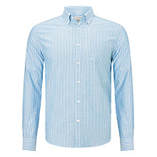 Buy John Lewis Oxford Fine Stripe Long Sleeve Shirt Online at johnlewis.com