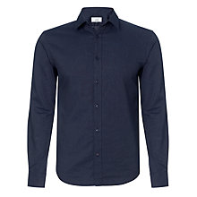 Buy John Lewis Long Sleeve Dobby Shirt Online at johnlewis.com