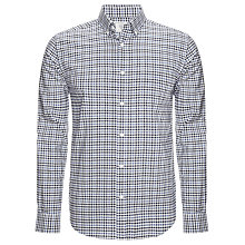 Buy John Lewis Oxford Shadow Check Long Sleeve Shirt Online at johnlewis.com