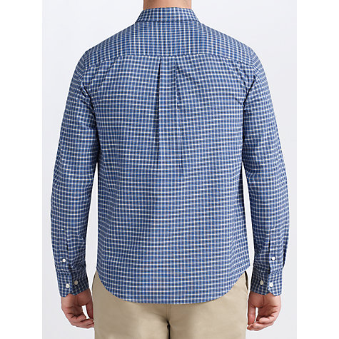 Buy John Lewis Mini Grid Check Oxford Long Sleeve Shirt Online at johnlewis.com