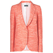 Buy Jaeger Tweed Jacket, Pink Online at johnlewis.com