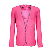 Buy Jacques Vert Shimmer Jacket, Fuchsia Online at johnlewis.com