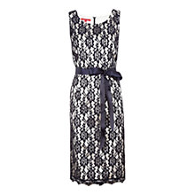 Buy Jacques Vert Lace Dress, Navy/Cream Online at johnlewis.com