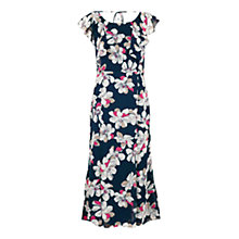 Buy Jacques Vert Floral Dress, Navy Online at johnlewis.com