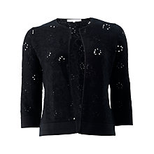 Buy Fenn Wright Manson Flora Cardigan, Black Online at johnlewis.com
