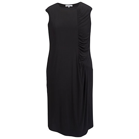 Buy Chesca Ruched Detail Dress, Black Online at johnlewis.com