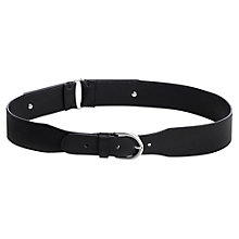 Buy Jigsaw Timea Stud Belt, Black Online at johnlewis.com