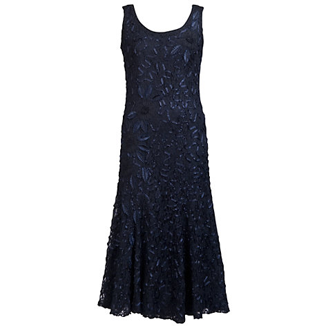 Buy Chesca Cornelli Lace Dress, Navy Online at johnlewis.com