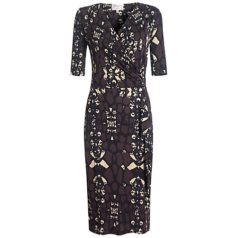 Buy allegra by Allegra Hicks Lily Dress, Cocoa Online at johnlewis.com