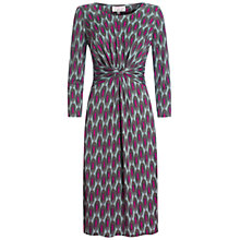 Buy allegra by Allegra Hicks Begonia Dress, Sage Online at johnlewis.com