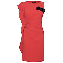 Buy James Lakeland Ruched Side Dress, Fuchsia Online at johnlewis.com