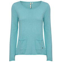 Buy White Stuff Mork Plain Jumper, Greenstone Online at johnlewis.com