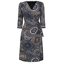 Buy James Lakeland Print Side Knot Dress, Grey Print Online at johnlewis.com
