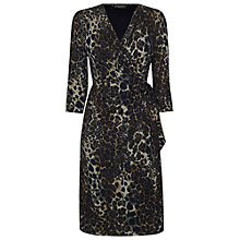 Buy James Lakeland Leopard Print Side Knot Dress, Multi Online at johnlewis.com