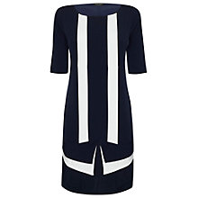 Buy James Lakeland Bicolour Dress, Navy/White Online at johnlewis.com