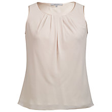 Buy Chesca Satin Trim Top Online at johnlewis.com
