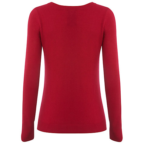 Buy White Stuff Mae Mae Knitted Top, Porto Red Online at johnlewis.com