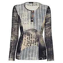 Buy James Lakeland Italian Print Top, Multi Online at johnlewis.com
