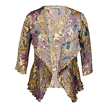 Buy Chesca Floral Print Shrug, Multi Online at johnlewis.com