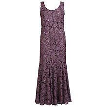 Buy Chesca Beaded Lace Dress, Haze Online at johnlewis.com