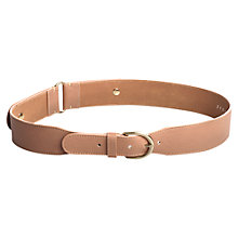 Buy Jigsaw Timea Stud Belt, Rose Online at johnlewis.com
